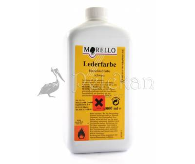 MORELLO LEDERFARBE Penetrating leather dye 1000ml