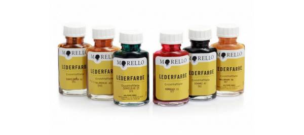 MORELLO LEDERFARBE Penetrating leather dye 40ml