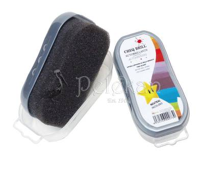 Auto-shining sponge for cleaning shoes CHEQ BRILL
