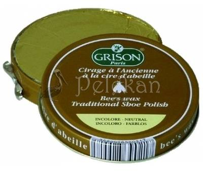 Conservative leather wax GRISON SHOE POLISH