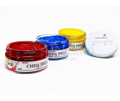 Shoe Cream CHEQ BRILL 50ml