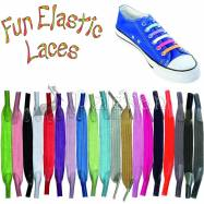 Fun Elastic Laces - No-tie, customisable laces
