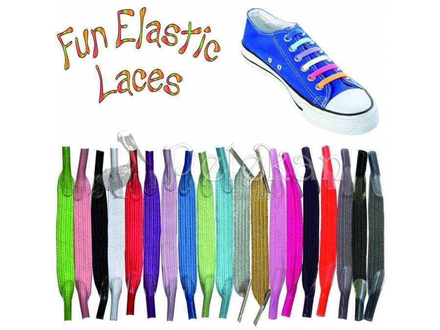 Purple Shoe Laces Nike