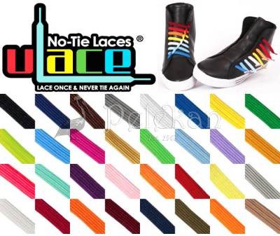 U-LACE Sneakers - Elastic, no-tie, customisable laces