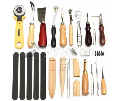Σετ 24 εργαλεία δερματοτεχνίας
