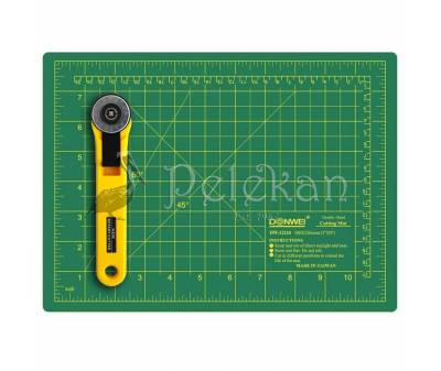 Double sided self healing cutting mat A1, A2, A3 numbered, eco friendly PVC