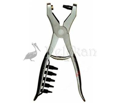 Solid punch pliers GT +5 CHANGEABLE PERFORATORS