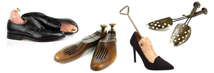 shoe trees, shoe forms, shoe stretchers