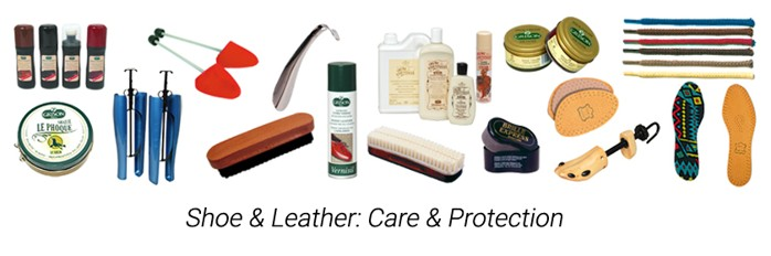 Shoe-care & leather-care products - accessories
