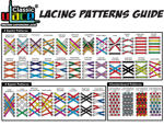 See at a magnification the U-LACE Lacing Patterns Guide